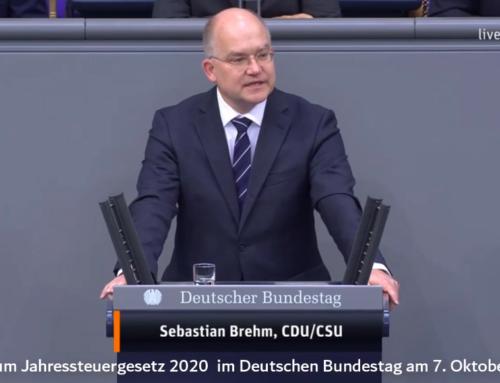 Bundestagsrede: Jahressteuergesetz 2020 Stärkung des Sachbezuges 44€ Steuer- und Sozialversicherung frei